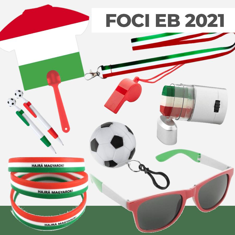 Kattints ide és tekintsd meg Foci EB 2021, szurkolói reklámajándék, tapsrúd, arcfestő, logózott reklámtárgy, emblémázható céges ajándék ötleteinket!