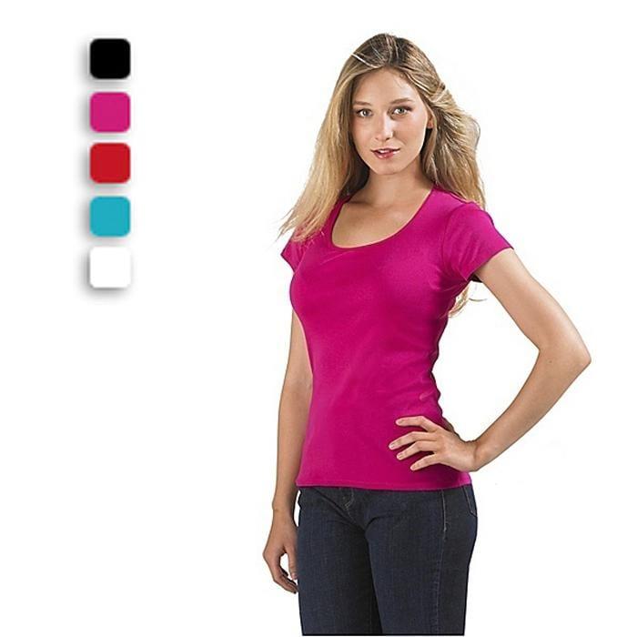Logózható Női céges póló - 220 gr m² Cégeknek 8520b006ec